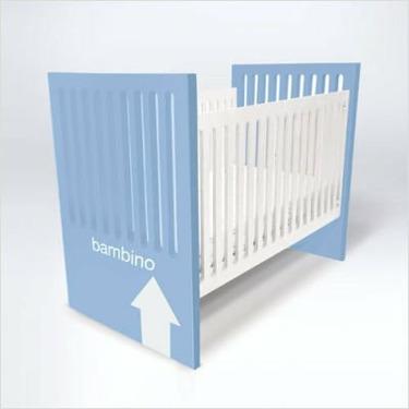 ducduc ALX-CONCB Alex Convertible Crib with Applique