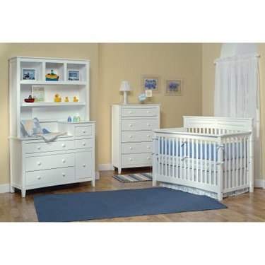 Child Craft Eastland Lifetime 3-in-1 Convertible Baby Crib Collection (Crib Only) - IK104-1