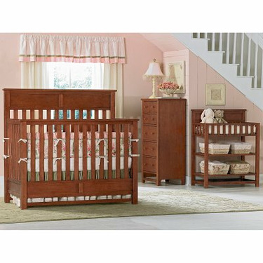 Bassettbaby River Ridge 4-in-1 Convertible Crib Collection - BST035