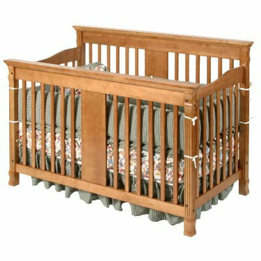Storkcraft Ariel 2-in-1 Convertible Baby Crib Cognac - SRK053-3