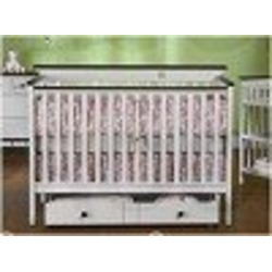 Bridgeport 4-in-1 Convertible Crib in White