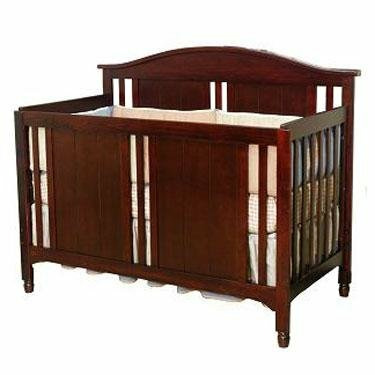 Cherry Pine Child Craft Watterson Convertible Wood Crib