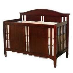 Cherry Pine Child Craft Watterson Convertible Wood Crib