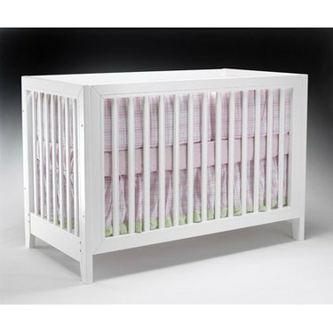Sorrelle Commuter Crib in White