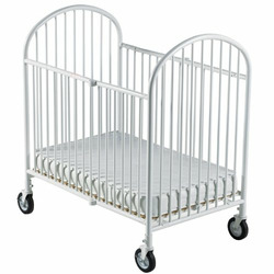 Foundations Pinnacle Compact Size Steel Folding Crib