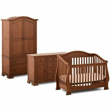 Status Furniture 300 Series Stages 3-in-1 Convertible Baby Crib Collection - SCM029