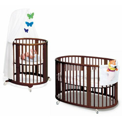 Stokke Sleepi System 1 Walnut