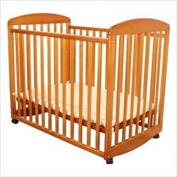 Athena Mya Mini Crib in Pecan