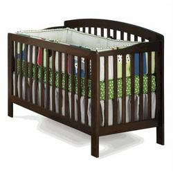 Convertible Crib - Richmond Collection Antique Walnut Finish