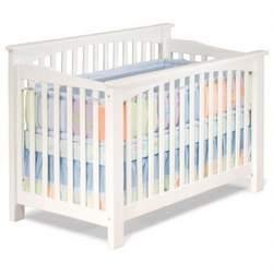 Convertible Crib - Columbia Collection White Finish