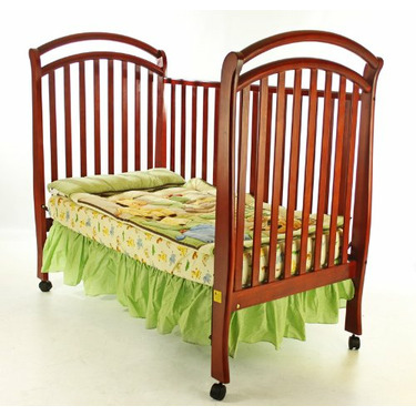 Dream On Me Bentwood Tuscany 3 in 1 Convertible Crib, Cherry