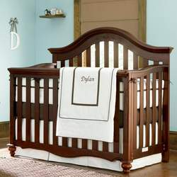 Bedford Baby Cherry Finish Lily Convertible Crib