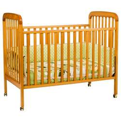 JCPenney Cherry Finish- Alpha Crib by DaVinci - Cherry, Natural, White