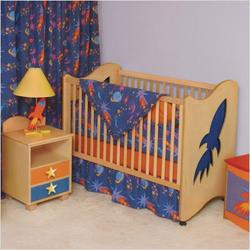 Star Rocket 2-in-1 Crib