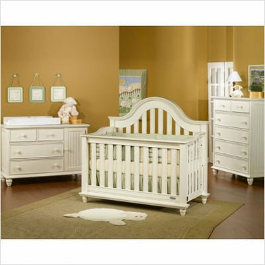Child Craft 32630.22 Freeport Lifetime Convertible Crib in Vintage Moonlight