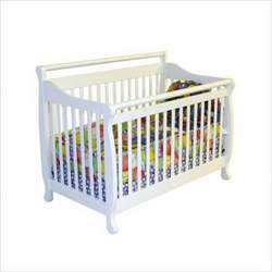 Dream On Me Liberty 4-in-1 Convertible Hardwood Crib in White