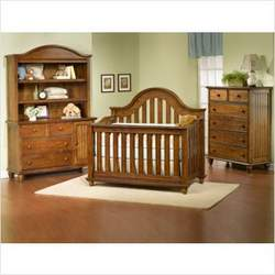 Child Craft 32630.54 Freeport Lifetime Convertible Crib in Rootbeer