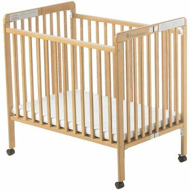 Foundations Little Dreamer Folding Compact Baby Crib - IK019