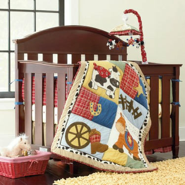 Cherry Dylan Crib by Bedford Baby - Cherry, Chocolate