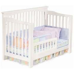 Atlantic Furniture Richmond 4-in-1 Convertible Baby Crib White - ATF293-1