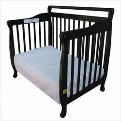 Dream On Me 3-in-1 Convertible Wood Crib in Black