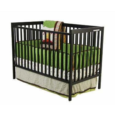 Dream On Me Madison 2 in 1 Covertible Crib, Espresso