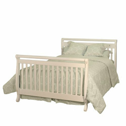 Athena Amy 3 in 1 Crib in White