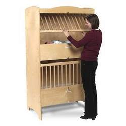 Whitney Bros WB4920 Double Decker Crib