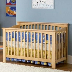 Convertible Crib - Columbia Collection Natural Maple Finish