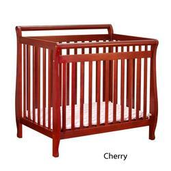 Athena Mini Amy Crib in Cherry
