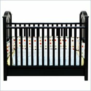 DaVinci Roxanne Stationary Convertible Crib - Ebony