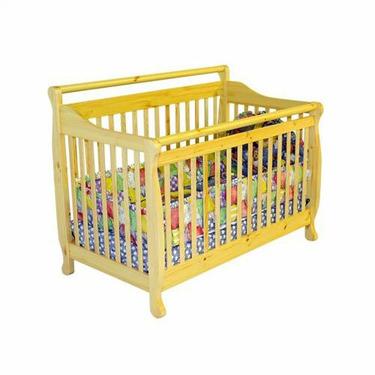Liberty 4-in-1 Convertible Crib in Natural