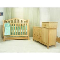 AFG Baby Furniture 4599AP The Venetia 3-in-1 Crib - Pecan