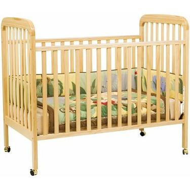 DaVinci Alpha Stationary Convertible Crib - Natural