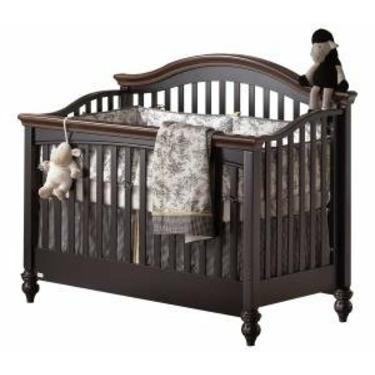 Natart Chelsea Crib-To-Double Wood Convertible Crib