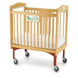 Foundations 10-VP-N3 First Responder Clearview Drop-Side Evacuation Crib - Includes Evacuation Frame