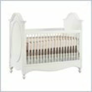 Young America Isabella Mix Match Convertible Wood Crib in French White