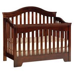 Young America genAmerica Mix Match Convertible Wood Crib in Classic Cherry