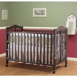Orbelle Trading 374C Lisa Three Level Full Size FOLDING Crib