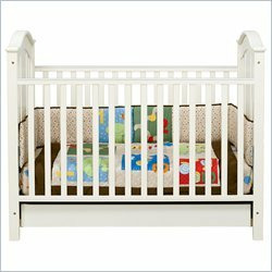 DaVinci Roxanne Stationary Convertible Crib - Antique White
