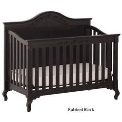 Status Series 200 Stages Convertible Crib Rubbled Black