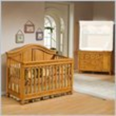 Westwood Design Cypress Point 4-in-1 Convertible Wood Crib Set