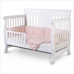 Nursery Smart 626-003-0102-W Chelsea 4-in-1 Convertible Crib in White