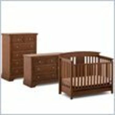 Status Furniture Brookfield Convertible Wood Crib Furniture Set