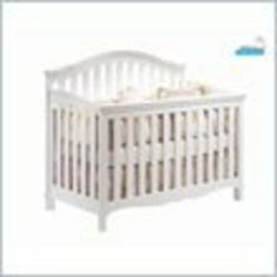 Aldi Juvenile Charlotte Convertible Wood Crib in White
