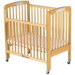 Foundations HideAway Standard Wood Full-Size Crib in Natural