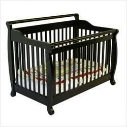 Dream On Me 618-E Liberty 4-in-1 Convertible Crib in Espresso