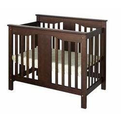 Annabelle Mini Baby Crib in Espresso