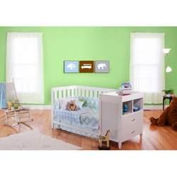 BSF Baby White Austin Crib 'n Changer Combo