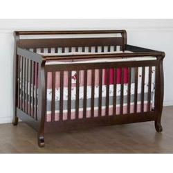 Emily Baby Crib Set in Espresso